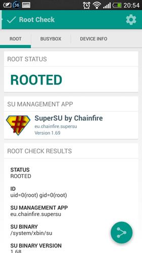 LG G3 Root Check