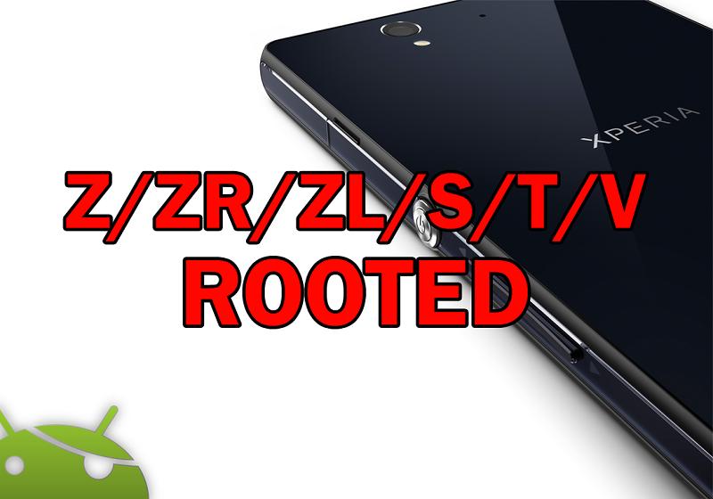 Root w Sony Xperia (Xperia Z/ZR/ZL/S/T/V i więcej) za pomocą